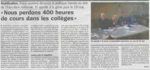 article La Marseillaise 24-04-2015